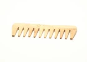 bamboe kam met grove tanden
