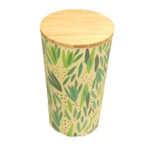 bamboe opbergpot met deksel
