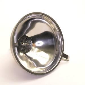 Inox trechter met filter