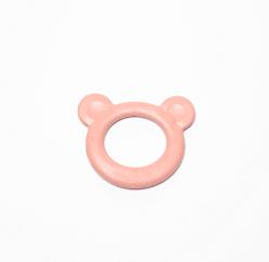 bijtring roze beertje