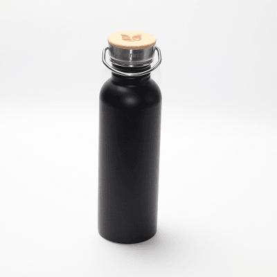 drinkfles rvs zwart