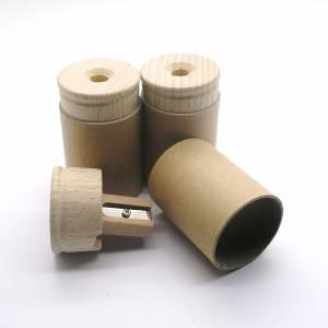 Slijppot gemaakt van hout
