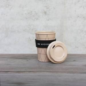 Koffiebeker to go gemaakt van rijstschillen - Special Edition