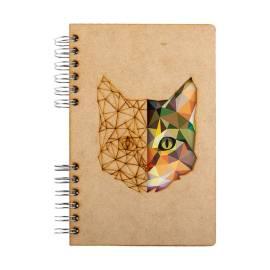 duurzaam houten notitieboek A5