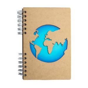 Duurzaam houten notitieboek