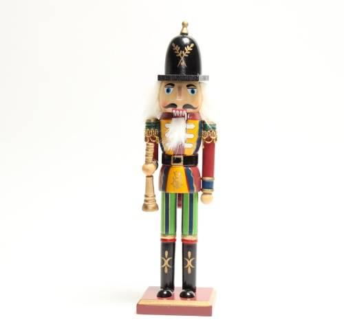 kerst notenkraker 18 cm trompet